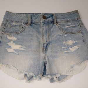 American Eagle Outfitters Cut Off Jean Shorts 2